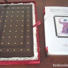 Libros de segunda mano: TABLAS DE LAS CONSTELACIONES DE ALFONSO X EL SABIO, LA OCTAVA ESFERA, S. XIV. Lote 270219068