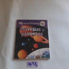 Libros de segunda mano: ESTRELLAS Y PLANETAS. Lote 275163208
