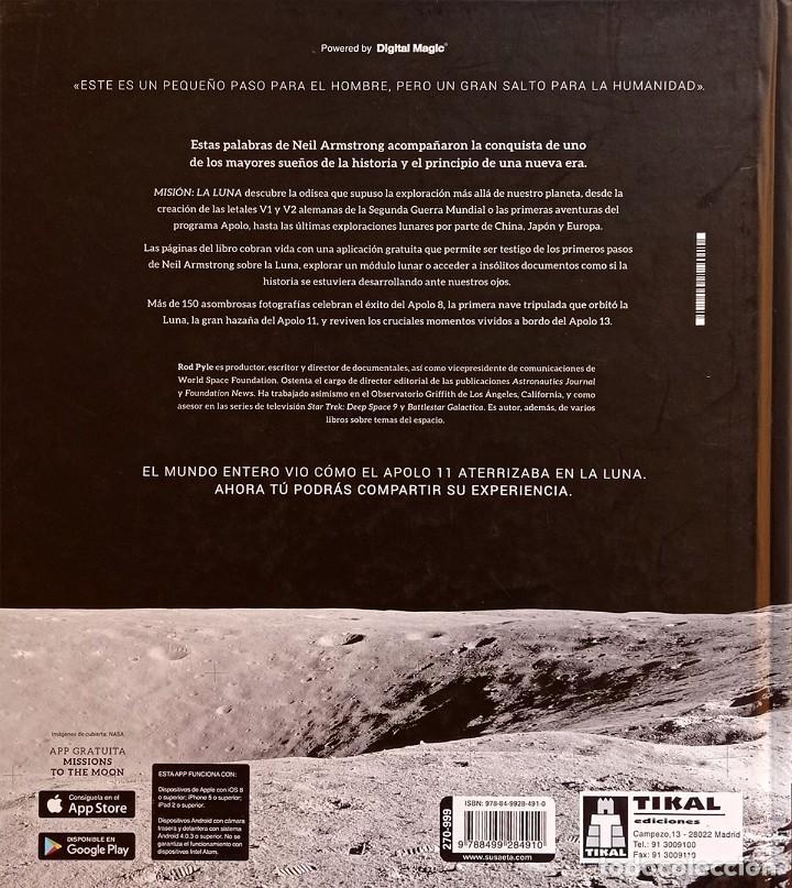 Libros de segunda mano: Misión: la Luna - Foto 2 - 275694708