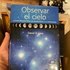 Libros de segunda mano: LIBRO OBSERVAR EL CIELO. Lote 275779158