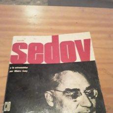 Libros de segunda mano: LEONIDAS SEDOV Y LA ASTRONAUTICA.HILAIRE CUNY.EDIC.CID.1962.232 PAGINAS.. Lote 286620738