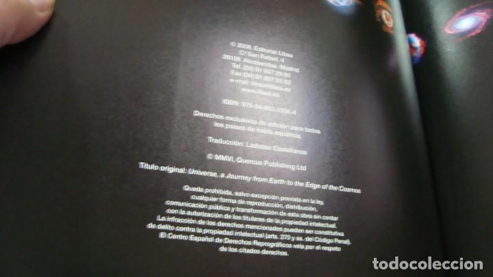 Libros de segunda mano: EL UNIVERSO Un viaje desde la tierra hasta el limite del cosmos - Foto 3 - 287928163