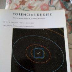 Libros de segunda mano: POTENCIAS DE DIEZ. PHILIP Y PHYLIS MORRISON. Lote 288340423