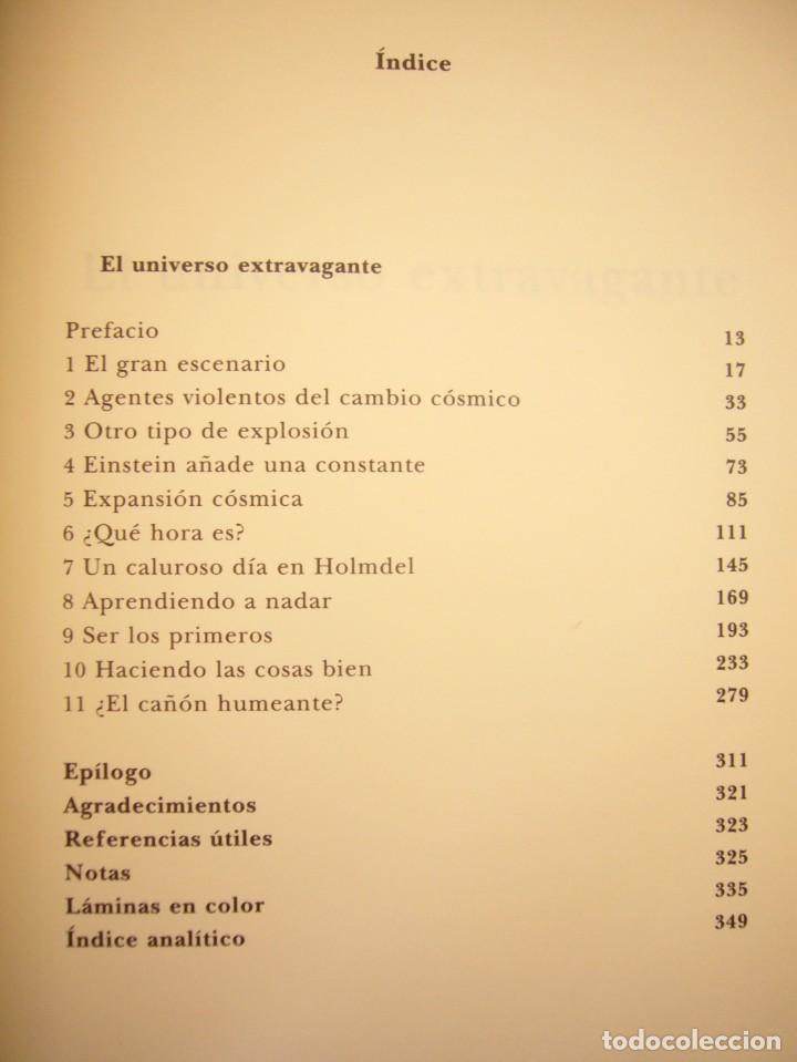 Libros de segunda mano: ROBERT P. KIRSHNER: EL UNIVERSO EXTRAVAGANTE (SIRUELA, 2006) RARO - Foto 6 - 288352153