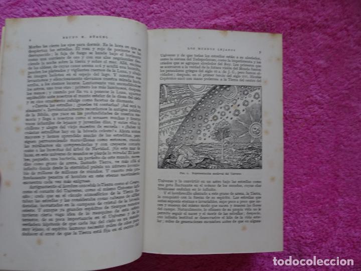 Libros de segunda mano: los mundos lejanos el universo como conjunto maravilloso editorial labor bruno h. burgel - Foto 8 - 288417763