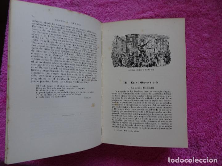 Libros de segunda mano: los mundos lejanos el universo como conjunto maravilloso editorial labor bruno h. burgel - Foto 11 - 288417763