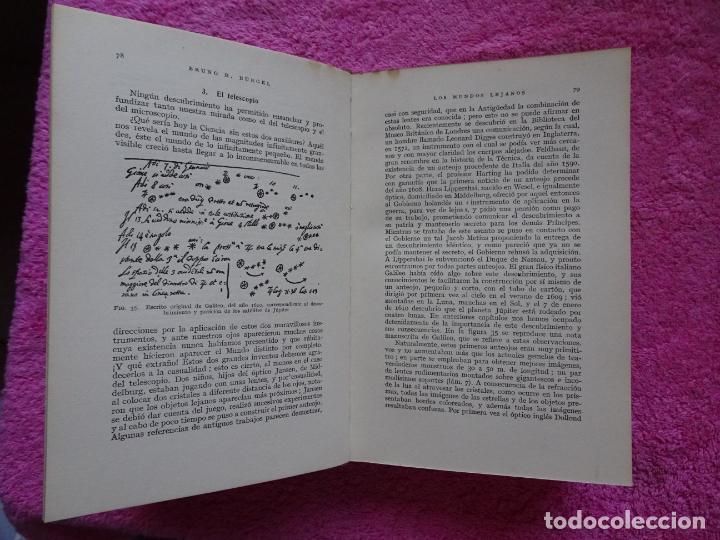 Libros de segunda mano: los mundos lejanos el universo como conjunto maravilloso editorial labor bruno h. burgel - Foto 12 - 288417763