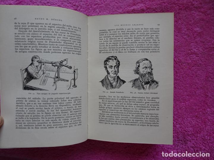 Libros de segunda mano: los mundos lejanos el universo como conjunto maravilloso editorial labor bruno h. burgel - Foto 15 - 288417763