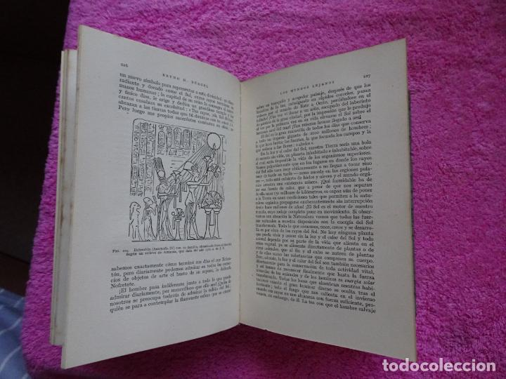 Libros de segunda mano: los mundos lejanos el universo como conjunto maravilloso editorial labor bruno h. burgel - Foto 19 - 288417763