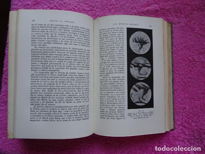 Libros de segunda mano: los mundos lejanos el universo como conjunto maravilloso editorial labor bruno h. burgel - Foto 23 - 288417763
