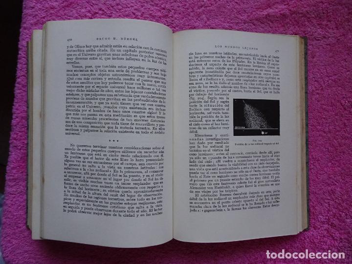 Libros de segunda mano: los mundos lejanos el universo como conjunto maravilloso editorial labor bruno h. burgel - Foto 26 - 288417763