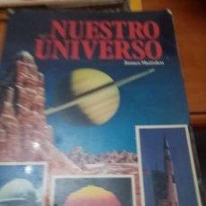Libros de segunda mano: NUESTRO UNVERSO JAMES MUIRDEN. Lote 295294483