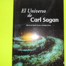 Libros de segunda mano: EL UNIVERSO DE CARL SAGAN, YERVAN TERZIAN Y ELIZABETH BILSON, ED. CAMBRIDGE UNIVERSITY PRESS. Lote 295440983