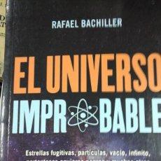Libros de segunda mano: EL UNIVERSO IMPROBABLE (MADRID, 2019). Lote 295501853