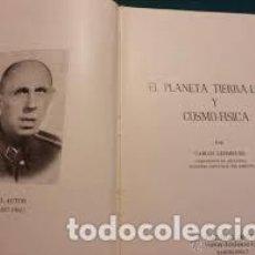 Libros de segunda mano: EL PLANETA TIERRA LUNA Y COSMOFÍSICA CARLOS LEHMKUHL. Lote 296023433