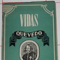 Libros de segunda mano: QUEVEDO / ANTONIO ESPINA. Lote 7683271