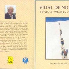 Libros de segunda mano: VIDAL DE NICOLÁS -PRESIDENTE DEL FORO DE ERMUA. Lote 15398