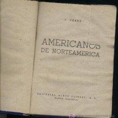 Libros de segunda mano: AMERICANOS DE NORTEAMÉRICA-J.FRANK. Lote 23528413