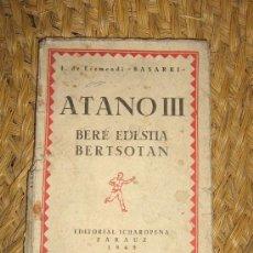 Livros em segunda mão: ATANO III POR BASARRI. Lote 213559706