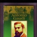 Libros de segunda mano: BIGRAFÍAS DEL SIGLO XX. EDICIONES RUEDA: ANTONIO GAUDI . Lote 26735863