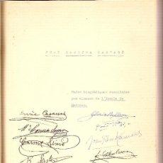 Libros de segunda mano: JOAN BARDINA CASTARA. DADES BIOGRAFIQUES RECOLLIDES PER ALUMNES DE L' ESCOLA DE MESTRES. PEDAGOGIA. Lote 27109672