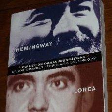 Libros de segunda mano: HEMINGWAY-LORCA POR IGNACIO GUZMÁN SANGUINETTI DE CLUB INTERNACIONAL DEL LIBRO EN MADRID 2002. Lote 18950055