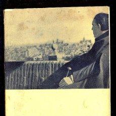 Libros de segunda mano: GREGORIO MARAÑON CUENTA SU VIDA. MARINO GOMEZ - SANTOS. 1961. 89 PAGINAS.. Lote 14589291