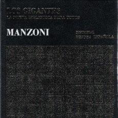 Libros de segunda mano: ALEJANDRO MANZONI. Lote 23911684