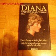 Libros de segunda mano: DIANA DE GALES: BIOGRAFÍA. Lote 27615995