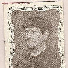 Libros de segunda mano: CLAUDE DEBUSSY 1862-1918 / XAVIER MONTSALVATGE. BARCELONA : TEATRO DEL LICEO, 1962.. Lote 2842339