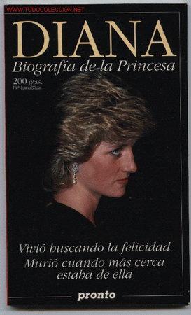 BIOGRAFÍA DE DIANA,PRINCESA DE GALES (Libros de Segunda Mano - Biografías)