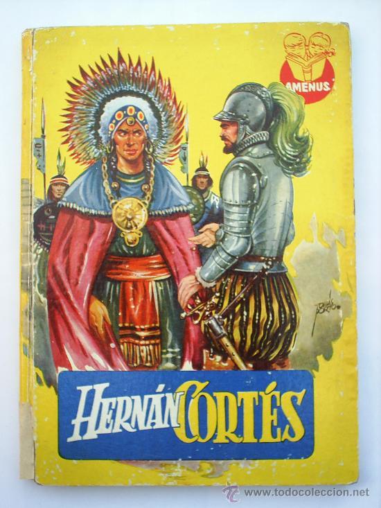 HERNAN CORTES--COLECCION AMENUS-EDITORIAL CIES- (Libros de Segunda Mano - Biografías)