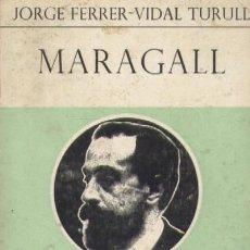Livres d'occasion: MARAGALL (A/ BI- 566). Lote 3401072