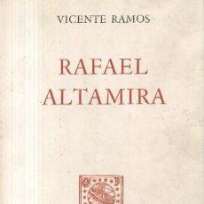 Libros de segunda mano: RAFAEL ALTAMIRA (A/ BI- 789). Lote 4685373