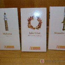 Libros de segunda mano: TRES BIOGRAFIAS ( MAHOMA, CESAR Y ALEJANDRO MAGNO ). Lote 26836063