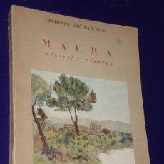Libros de segunda mano: MAURA. INFANCIA Y JUVENTUD DEL GRAN ESTADISTA.(1953). Lote 22579155