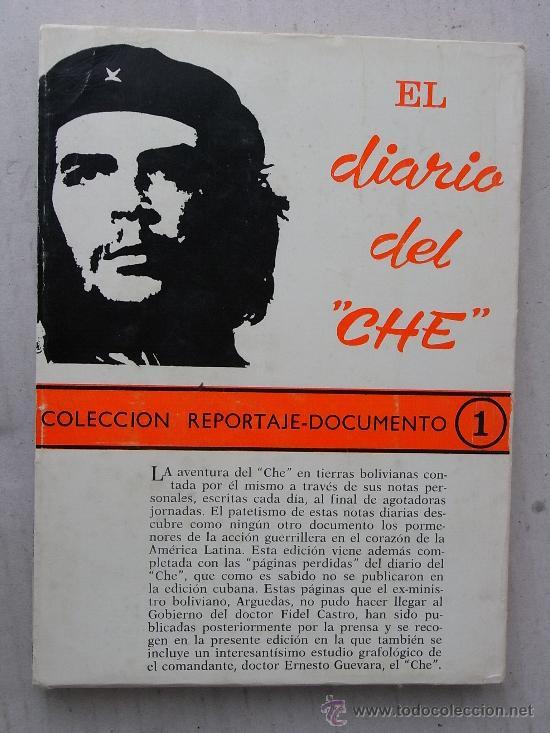 Libros de segunda mano: EL DIARIO DEL CHE, 1968, CON ALGUNAS FOTOGRAFÍAS EN BLANCO Y NEGRO. - Foto 2 - 27385165