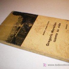 Libros de segunda mano: GREGORIO MARAÑON CUENTA SU VIDA - MARINO GOMEZ-SANTOS - AGUILAR (1961). Lote 13273890