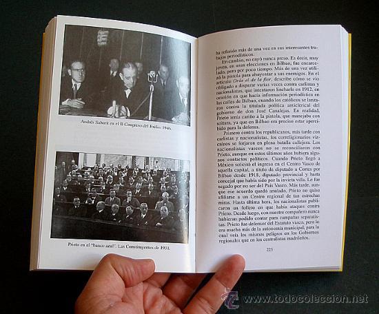 Libros de segunda mano: Libro: Semblanza de INDALECIO PRIETO - Foto 2 - 46458329