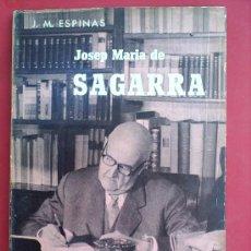 Libros de segunda mano: BIOGRAFIES POPULARS , JOSEP MARIA DE SAGARRA 1962. Lote 179219820