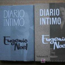 Libros de segunda mano: DIARIO ÍNTIMO. (LA NOVELA DE LA VIDA DE UN HOMBRE). NOEL (EUGENIO). Lote 20241502