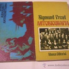 Libros de segunda mano: 2 LIBROS DE SIGMUND FREUD (ALIANZA EDITORIAL). Lote 17398182