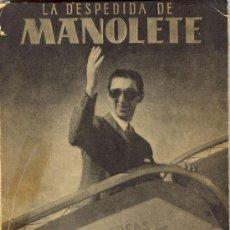 Second hand books - 1947: La despedida de Manolete - 27031486