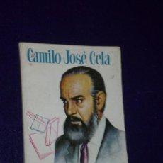 Libros de segunda mano: CAMILO JOSE CELA.. Lote 23229004