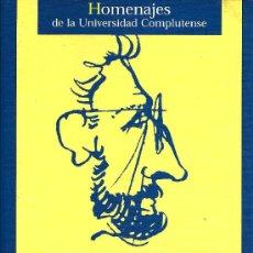 Libros de segunda mano: RECTOR Y HUMANISTA: HOMENAJE A ANGEL VIAN ORTUÑO - 2002. Lote 26874971