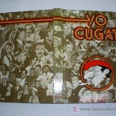 Libros de segunda mano: YO, CUGAT MIS PRIMEROS 80 AÑOS DEDICADO POR XAVIER CUGAT PROLOGO FRANK SINATRA 1981 RM39329-V. Lote 26651916