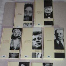 Libros de segunda mano: SIETE LIBROS DE LA COLECCIÓN PROTAGONISTAS DEL S.XX . Lote 25014489