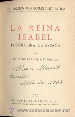 Libros de segunda mano: LA REINA ISABEL – AÑO 1941 - Foto 3 - 26599169