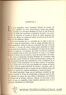 Libros de segunda mano: VIDA Y DESVENTURAS DE MIGUEL DE CERVANTES – AÑO 1933 - Foto 4 - 27016807