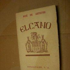 Libros de segunda mano - Elcano, Jose de Arteche, Espasa Calpe,1942,Madrid - 23414124